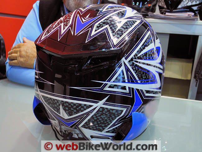 Haber Helmet Ventilator Rear View