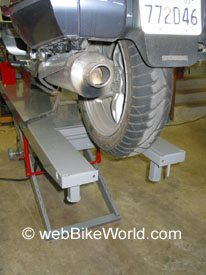 Handy Motorcycle Table Lift Review - webBikeWorld