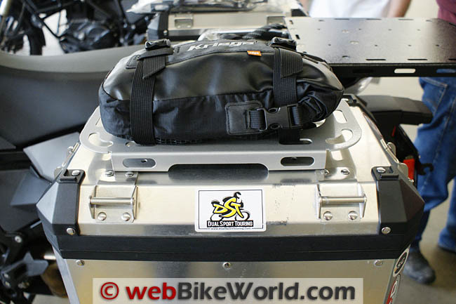 Micatech Roof Racks With Kriega Drypack
