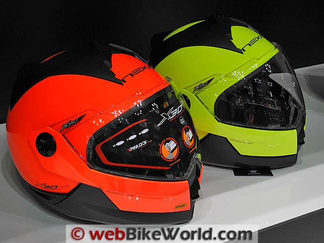 Nexx X30 High-Visibility Helmets