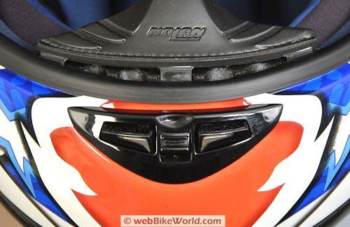 Nolan N94 Helmet - Chin vent
