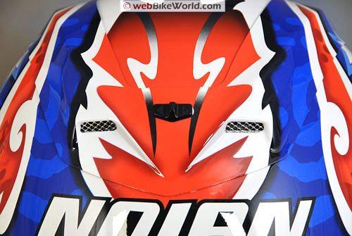 Nolan N94 Helmet - Top vent