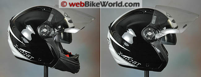 X-Lite X-402GT Helmet Conversion