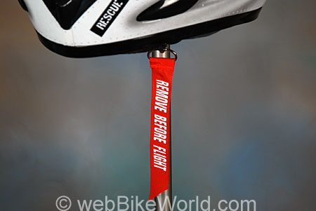 "Akuma Helmets - V-1 Ghost Rider ""Remove Before Flight"" Tag"