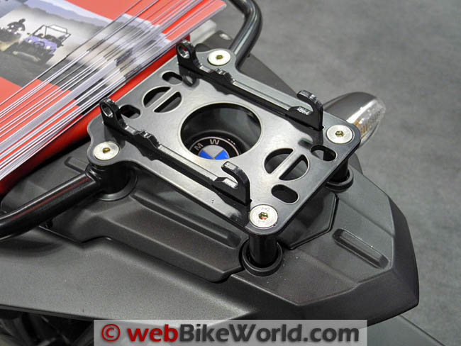Warn XT15 Winch Motorcycle Mount