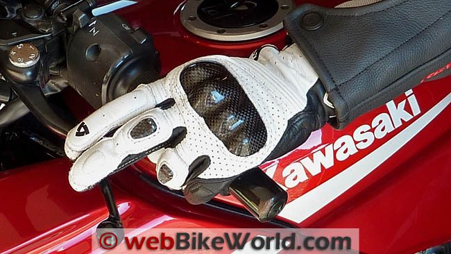 REV'IT! Airvolution Gloves - On Motorcycle