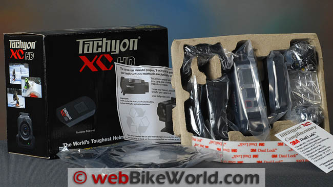 Tachyon XC HD Box Contents