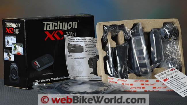 Tachyon XC HD Box Contents