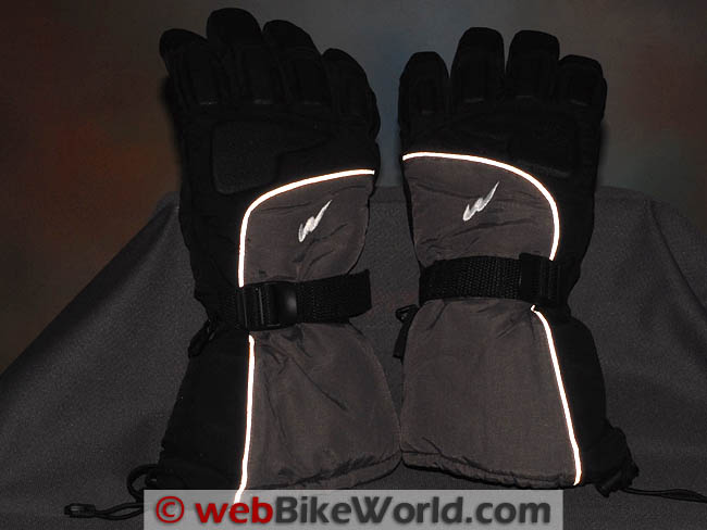 Warmthru G4 Gloves - Reflectivity