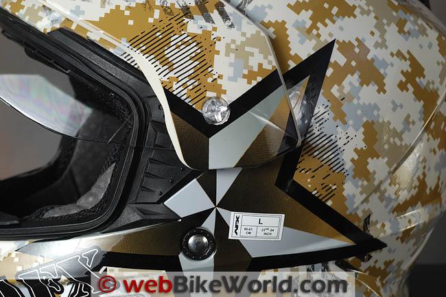 AFX FX-39 Visor Removal
