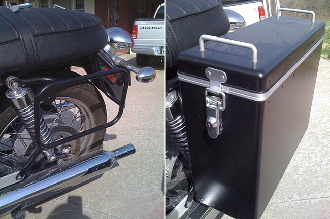 Moto-Sport Panniers Close-up