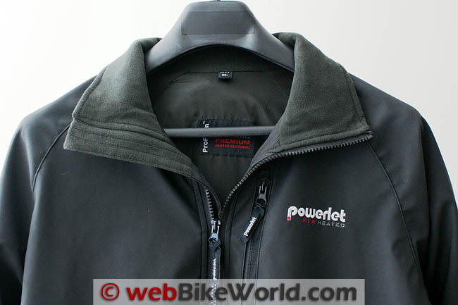Powerlet RapidFIRe Heated Jacket Collar