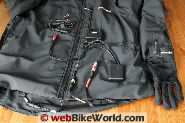 Powerlet RapidFIRe Heated Jacket and Gloves