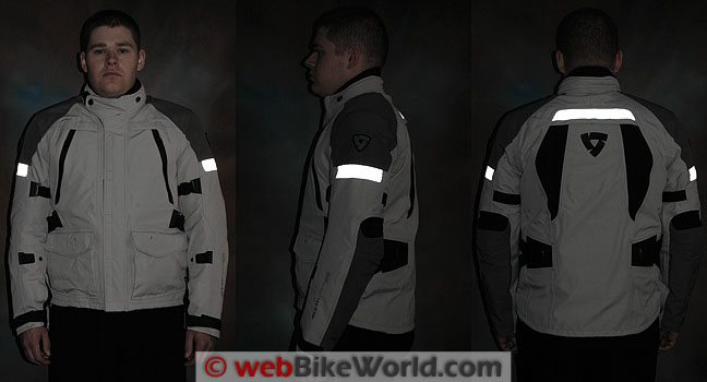 Rev'it Everest GTX Jacket Reflectivity