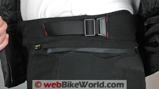 Rev'it Defender GTX Pants Waist Adjuster