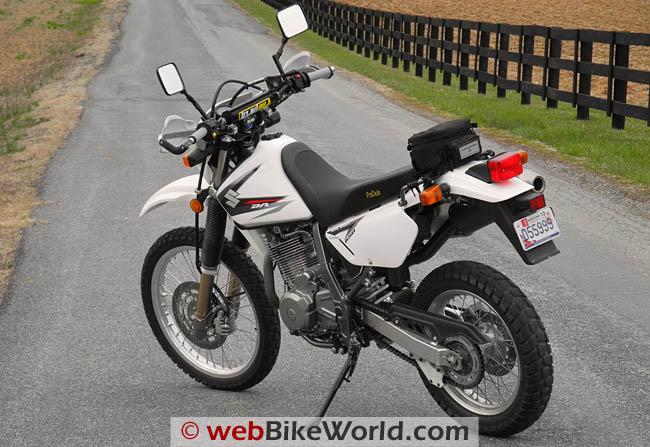 Suzuki DR650SE - Left Rear