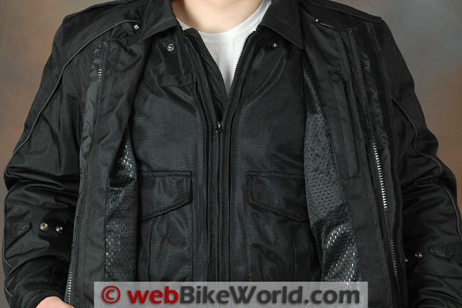 Tourmaster Flex LE Jacket - Outer Shell With Inner Mesh Jacket