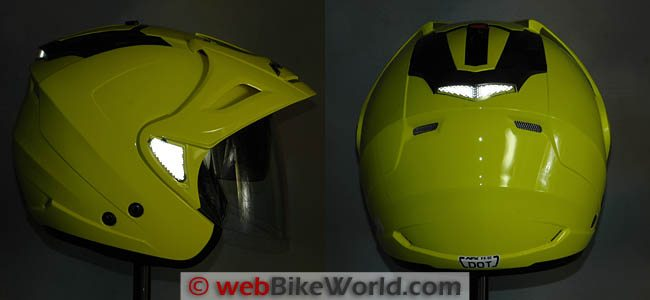 AFX FX-50 Helmet Reflectivity