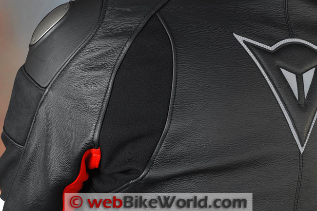 Dainese Alien Jacket Rear Shoulders