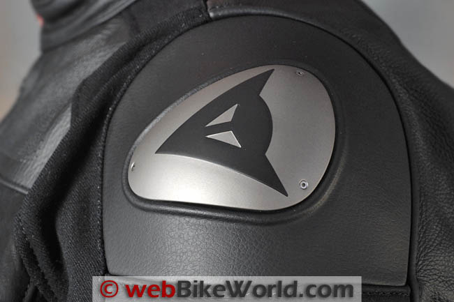 Dainese Alien Jacket Shoulder Armor Close-up
