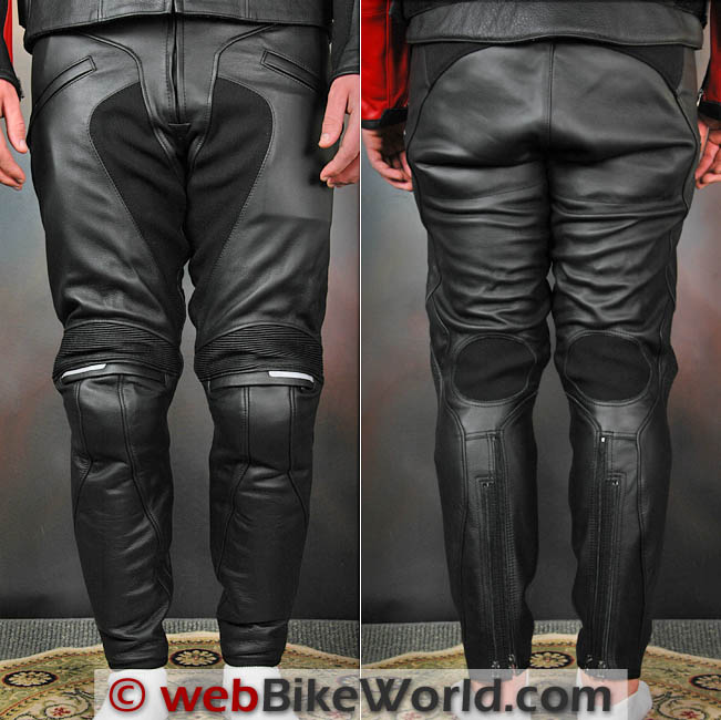 Dainese Alien Pants Front and Rear View
