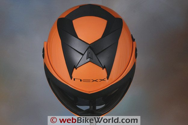 Nexx X30 Helmet - Top View