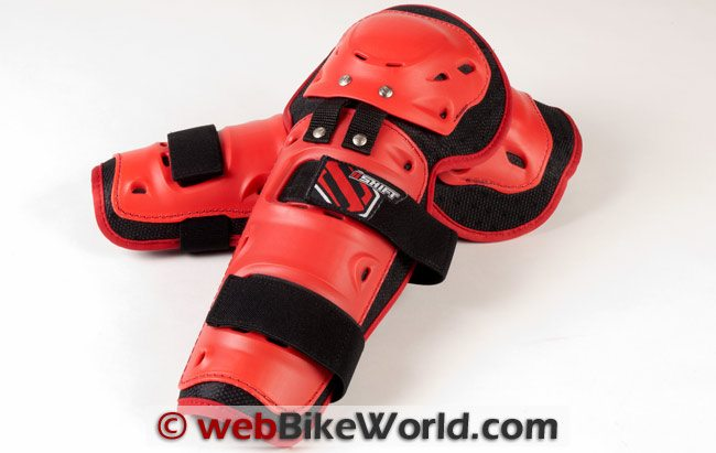 Shift Enforcer Knee Guards, Front View