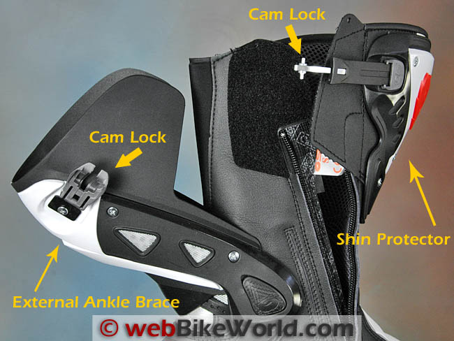 Sidi ST Boots Cam Lock System