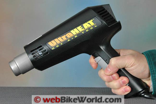 Steinel Ultra Heat SV 800 Heat Gun Size