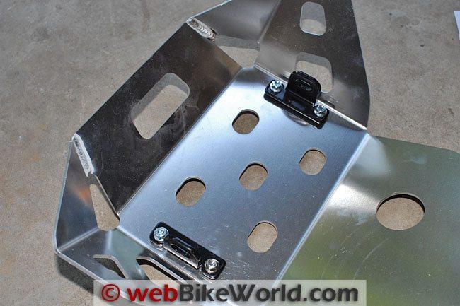 SW-Motech Skid Plate Inside Mounts