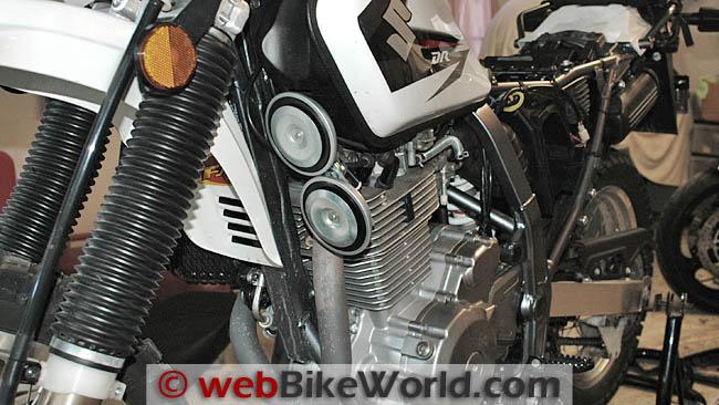 Hella Horns Suzuki DR650