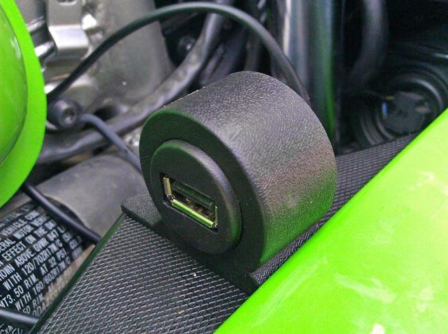 Ninja 650r USB Port