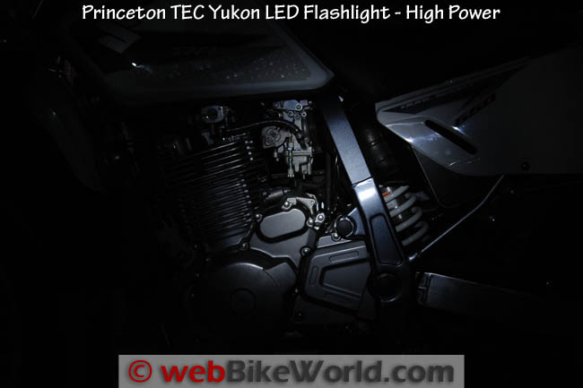 Princeton TEC Yukon LED Headlamp High