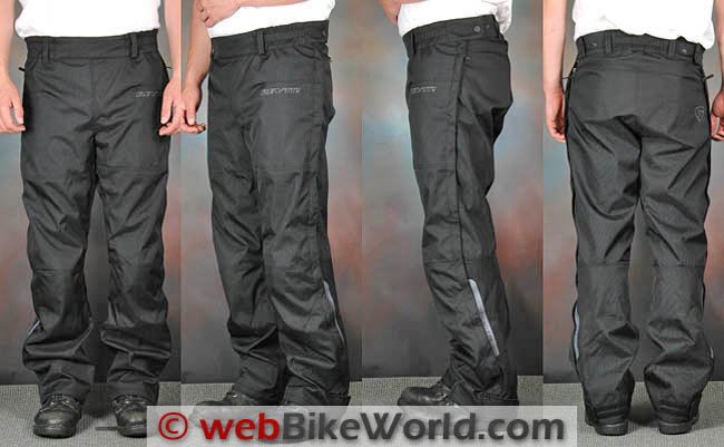 Rev'it Axis Pants Front and Rear Views