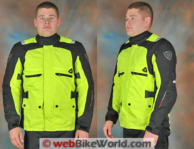 Rev'it Energy HV Jacket Front and Side Views