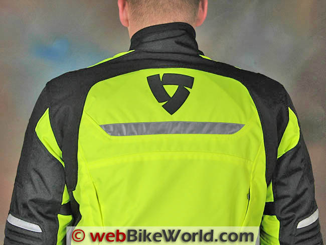 Rev'it Energy HV Jacket Rear Shoulders