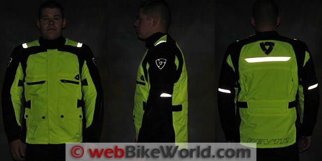 Rev'it Energy HV Jacket Reflectivity