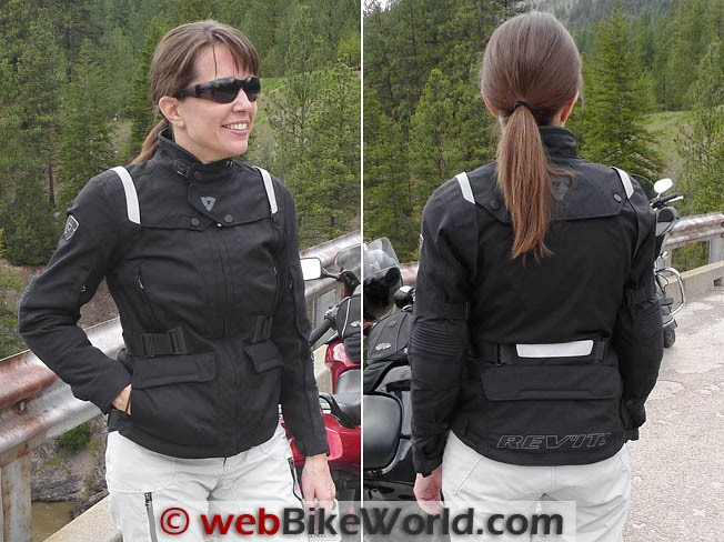 Rev'it Ventura Jacket Front and Rear