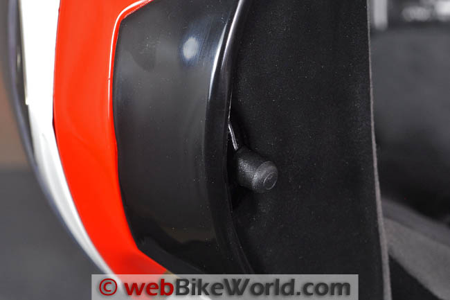 Vemar Eclipse Chin Vent Lever