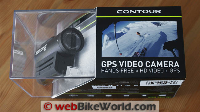VholdR Contour GPS HD Video Camera Packaging