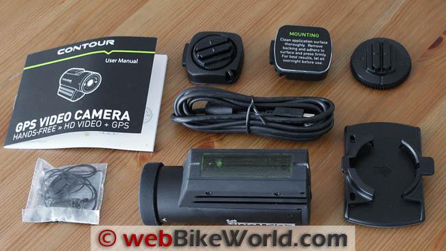 VholdR Contour GPS Kit Contents