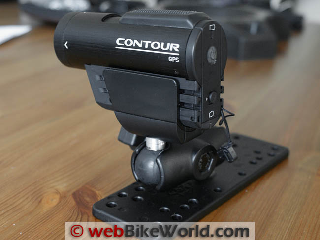 VholdR Contour GPS on RAM Mount