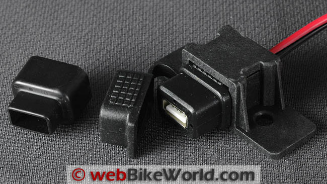 Waterproof Motorcycle USB Port