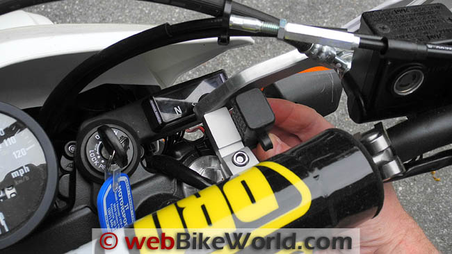 Waterproof USB Port on Handlebars