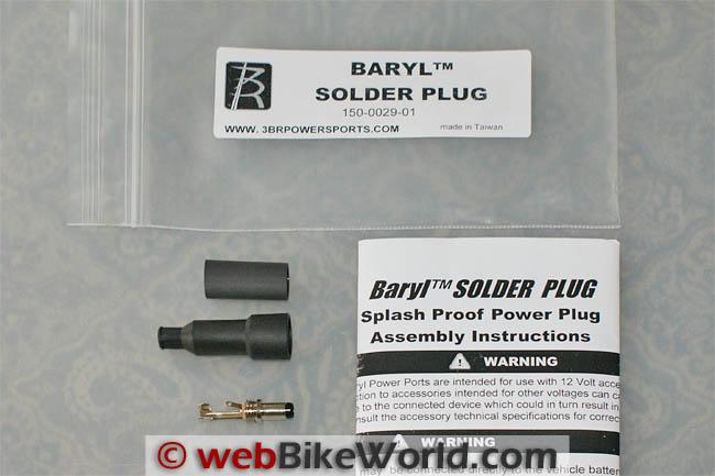 3BR Baryl Solder Plugs