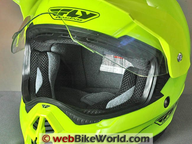 Eye Port of the Fly Trekker Helmet