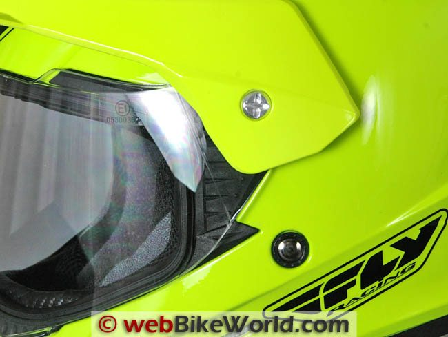 Fly Trekker Helmet Face Shield Removal