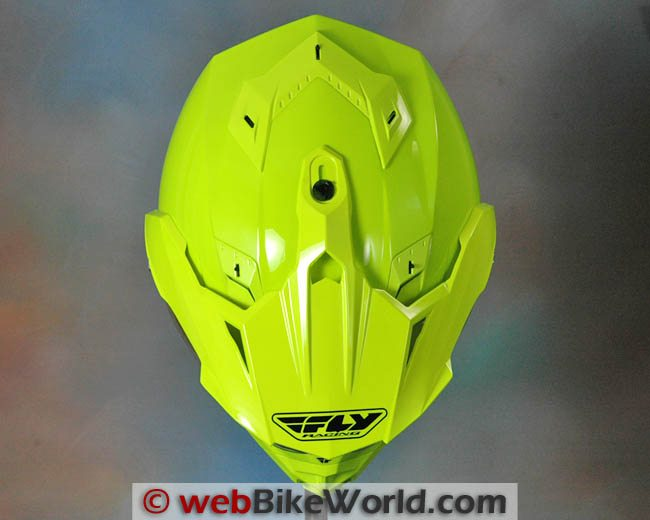 Fly Trekker Helmet Top View