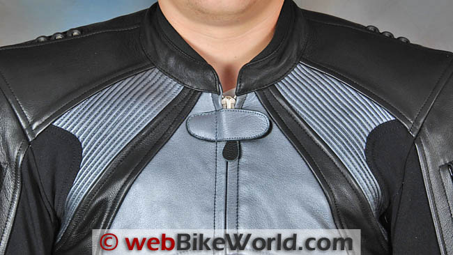 Spartan Leathers Charge Jacket Neck