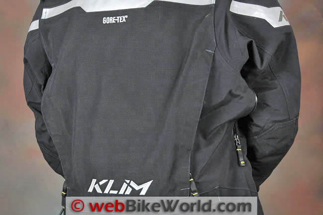 Badlands Pro Jacket Rear Shoulder Vents